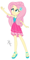 EQG Series - Fluttershy in resort wearing by ilaria122