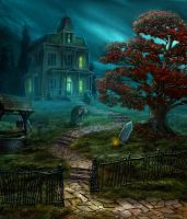 Haunted house by olga-idealist
