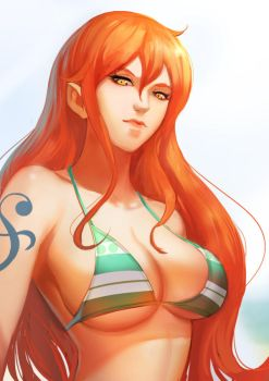 Nami fanart by Readman
