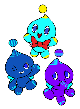 The Chao Trio by TreeofLife911