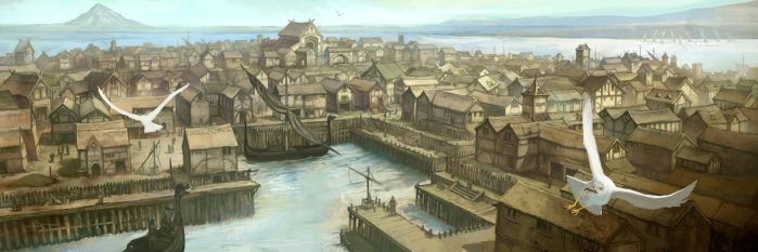 Lake-Town by JonHodgson