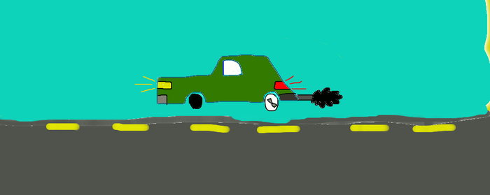 Kremlin car from The simpsons Hit and run by stecdude123