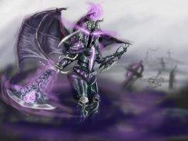 Skin idea - Dread knight Kayle by gerrd