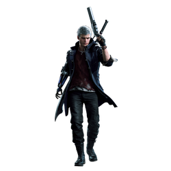 Devil May Cry 5 Nero Render PNG Polished -better- by GamingDeadTv