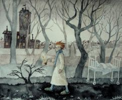 knock-knock forest walk by naitiron