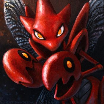Scizor by kenket