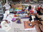 Ravyn's Work Station by RavynCrescent
