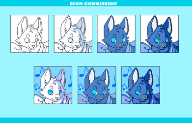 ICON COMMISSION (OPEN) by Azureanothertale