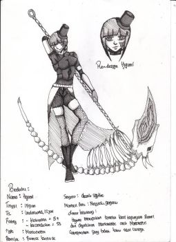 re design Higami with new style by LyzteClown