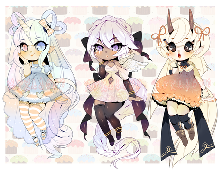 OPEN: CUTE ADOPTABLE AUCTION by minnoux