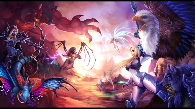 .: Heroes Of The Storm :. by JuliaTheDragonCat