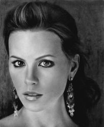 Kate Beckinsale by elisabethsmenesfrost