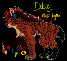 Delete's Reference Sheet by Tevayra