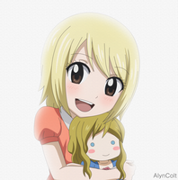 Lucy and Michelle. 2 by AlynColt
