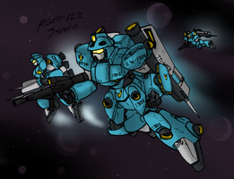 RGM-122 Javelin- Last of the RGM line by Blayaden