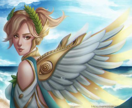 Winged Victory Mercy by rei-kaa