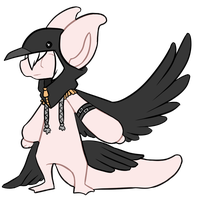 [CLOSED] Crow outfit by Ayinai