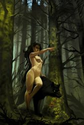 The dryad by ChrisRallis