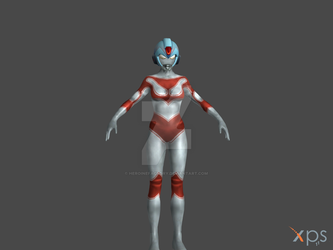 UltraWoman Jenny for XPS (WIP) by HeroineFactory