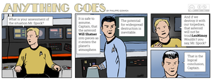 Anything Goes 022 - Star Trek, Kirk and Spock by Quebecman
