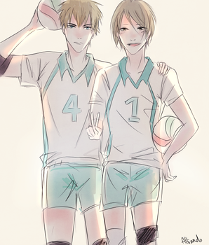 19 Days x Haikyuu!! by AlliandoAlice