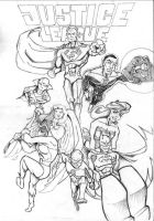 Justice League by FATRATKING