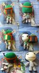 Boba Fett - Sackboy plush by LuCIoos