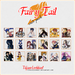 Fairy Tail - Cuts pack by TifaxxLockhart