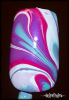 Finally, a successful water marble!! by mslaynie