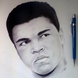 Muhammad Ali - Tribute Drawing by LethalChris