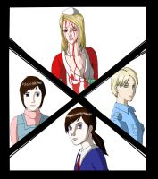 Silent Hill Girls by dementiaz