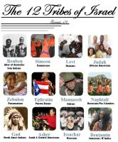 12 Tribes of Israel by 12TribesOfIsrael