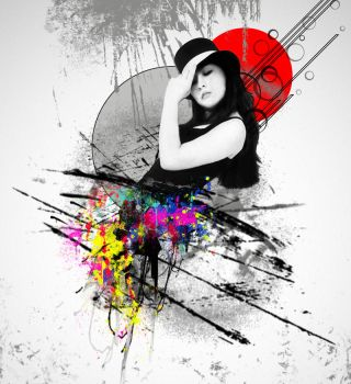 Abstract woman by Boladesign