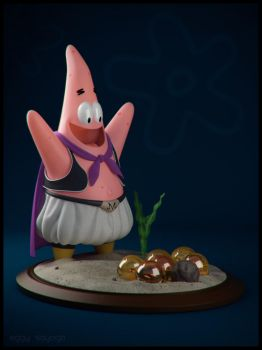 Patrick The Buu by SaiogaMan