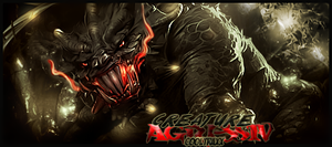 Creature by cooltraxx