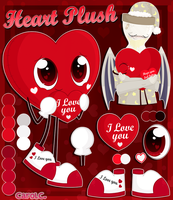 -Ref- Heart Plush by Carol2015