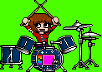My Kim Pine Drum Sprite by supergrat