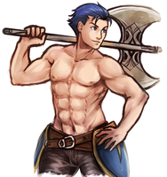 Shirtless Hector - 2016 by nayuun