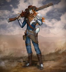 Character Design : Cowboy by dante2906