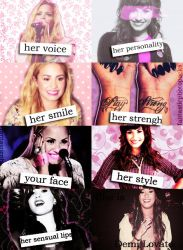 +She is Demi Lovato. by FantasticPhotopacks