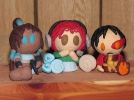 BethanyFrye Fan-made Clay Figurines! by JordanVenturian