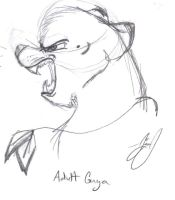 Guya Snarl by HuntressGuya