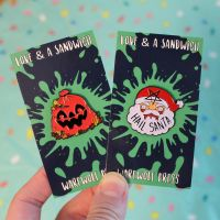 New Backing Cards by loveandasandwich