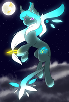 Starfall the star pony by F0XBLAZE