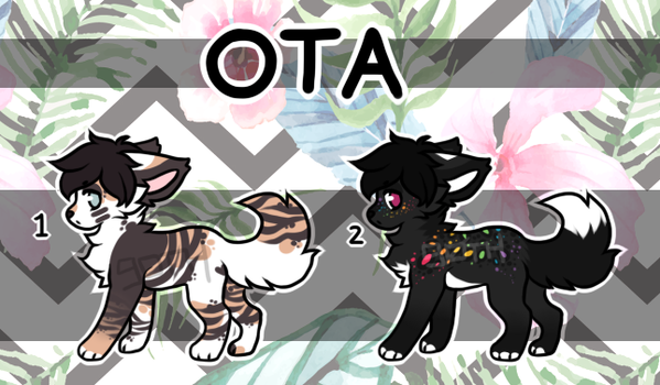 [OPEN OTA] two puppies by tokengoth