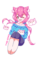[Gift] Chiye Animated Pixel Pagedoll by Chromlyte