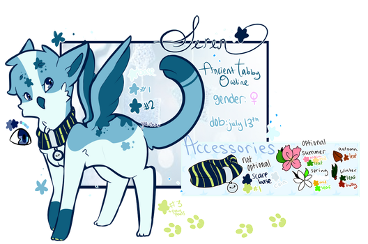 Reference Sheet | Seren by juu-cha