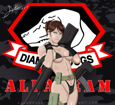 Metal Gear Solid V Flaming Buffalo by AtlasMaximus