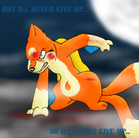 Never Give Up by feraIigatrs