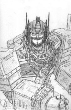 Prime pities the fool who mess with the Autobots! by artschoolreject